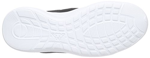 Unisex Kappa 1110 White Speed Zapatillas Negro Adulto Black II t7F7qUw