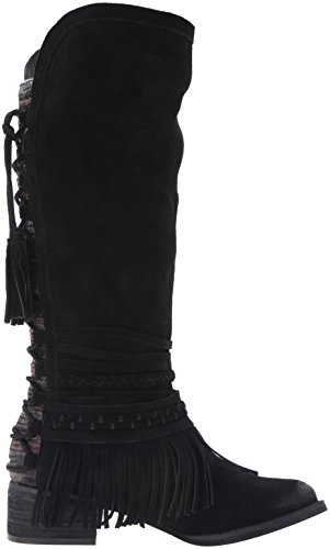 Women's Zarape Boot Monkey Black Chelsea Naughty p15Tqwxn