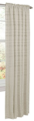 Cheap Maytex Thermal Shield Kaylee Energy Saving Window Panel, 50 by 84-Inch, Ivory