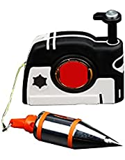 Plumb Bob Setter Magnetic Adjustable Plumb-Rite with 4.5m Auto Recoiling Cord Quick-Stabilizing Bob