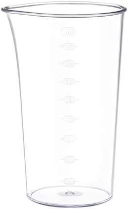 Krups HZ64B1 Perfectmix 8000 Mixeur plongeant avec 20 vitesses et fonction turbo Powelix + 800 ml Verre doseur Blanc/Gris foncé