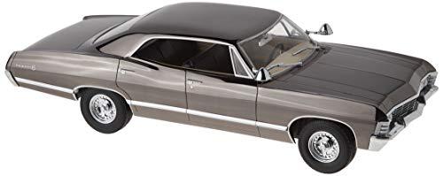 Sedan Green - 1967 Chevrolet Impala Sport Sedan Black Chrome Edition Supernatural (TV Series 2005) 1/18 by Greenlight 19024
