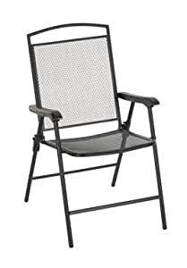 "Amazon.com: Living Accents Chair Folding 26"" L X 21.7"" W X ... on Living Accents Patio id=78981"