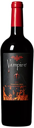 2013 Vampire California Winemaker's Red Blend Wine with Coffin 750 mL