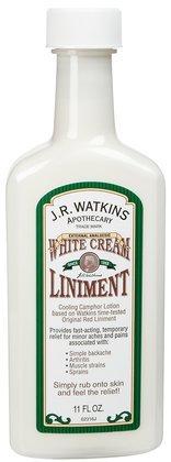 J. R. Watkins White Cream Liniment-11 oz (Quantity of 4)