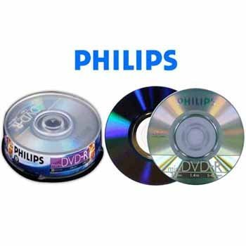 10 Philips Mini Dvd-r for Sony/hitachi Cam by Philips