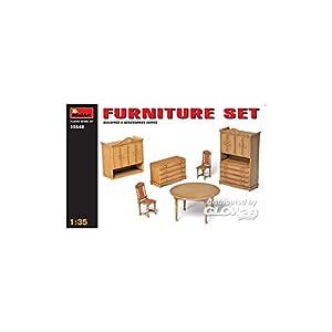MiniArt 1:35 Scale Furniture Set Plastic Model Kit 7