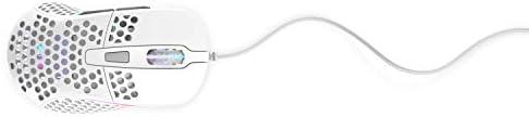 XTRFY M4 RGB Ultra-Light Gaming Mouse White.