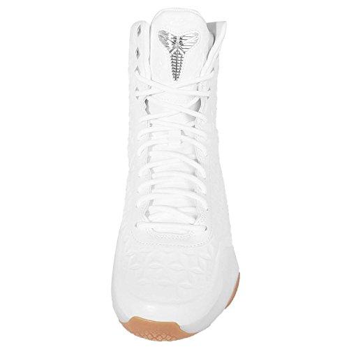 Nike - Zapatillas de Piel para hombre Blanco blanco Blanco - blanco