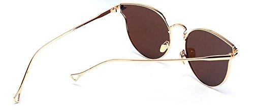 style métallique lunettes vintage soleil de Film inspirées du en Lennon retro polarisées cercle Bleu rond qXqP0r