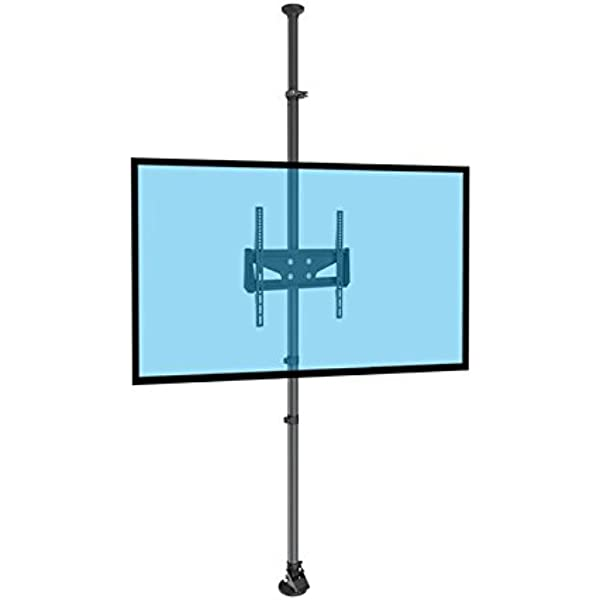 KIMEX 023-0144 Soporte Columna Suelo-Techo para Pantalla TV LCD LED 32