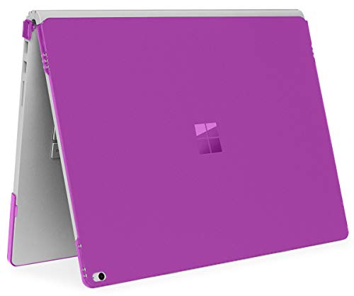 - iPearl mCover Hard Shell Case for 15-inch Microsoft Surface Book 2 Computer (MS-SBK2-15 Purple)