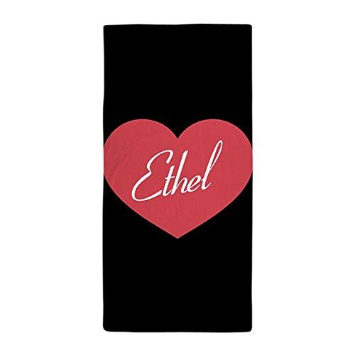 CafePress I Love Lucy Ethel Heart Large Beach Towel, Soft 30