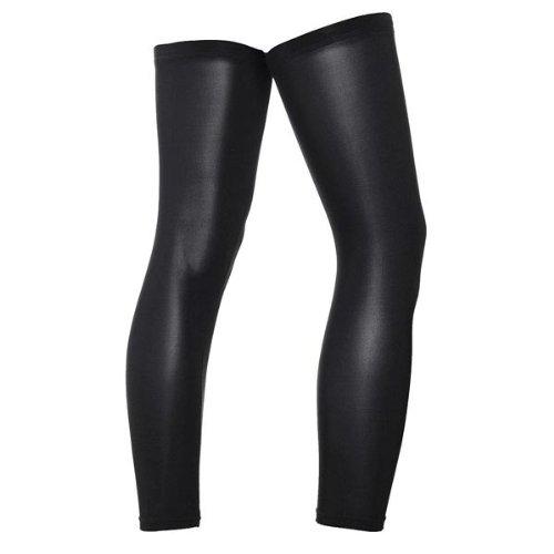 Cycling Bike Bicycle Leg Warmer Guard Knee Running Sleeves Covers (Size : XL)