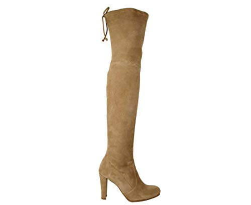 Stuart Weitzman Light Brown Highland Mojave Suede Over-The-Knee Boot (8.5 M US)