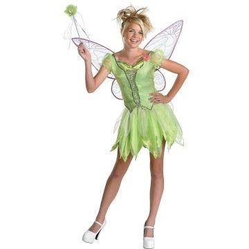Tinker Bell Costume deluxe - Child/teen Costume - Large -