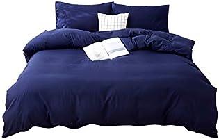 Prodigen 布団カバーセット 掛け布団カバー ボックスシーツ 枕カバー ポリエステル100% 通気性 柔らかな肌触り 洗い替え 速乾 四季適用 寝具カバーセット