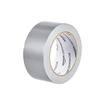 AmazonCommercial Light to Medium Strength Duct Tape, 1.88-inch by 20-Yard, Silver, 3-Pack