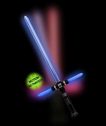 Price comparison product image Fun Central AU173 LED 27 Inch Tri-Saber with Sound- Multicolor