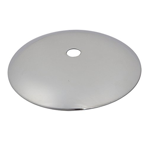 uxcell 100mm Dia Arc Shape Light Disc Chassis Base Pendant Accessory Lamp Ceiling (Metal Ceiling Medallions)
