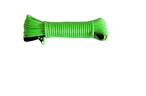 Green 50ft Winch Synthetic Cable