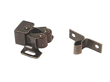 Delicieux RV Designer H201, Roller Catch With Prong, Antique Brass, 2 Per Pack,