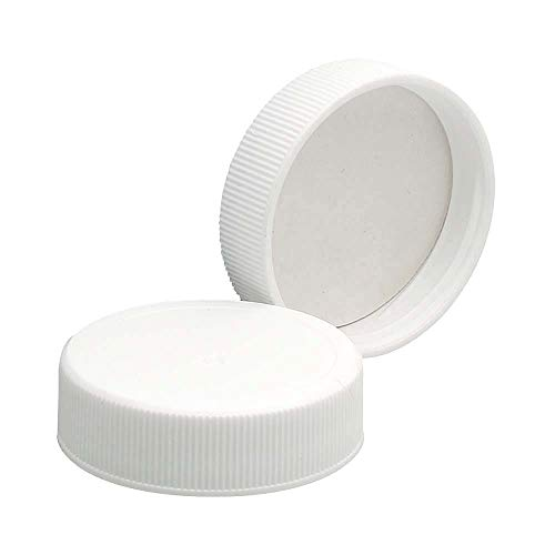 Wheaton 239213 White Polypropylene Screw Cap with Poly-Vinyl Liner, 38-400 Size (Pack of 72)