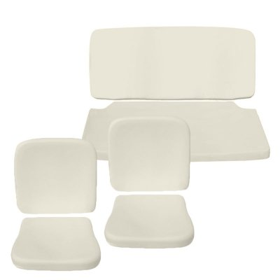 VW Seat Pad Kit, Front & Rear, Top & Bottom, Bug Sedan 1954-1964