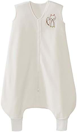 Halo Early Walker Sleepsack Wearable Blanket, Cream with Fox, Medium