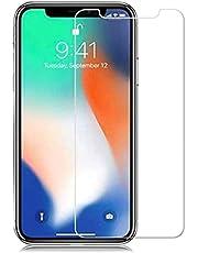 Kit 3x Películas Protetoras de Vidro Apple iPhone XR Total Transparente, Aderência por Eletrostática [Sky Dreams]