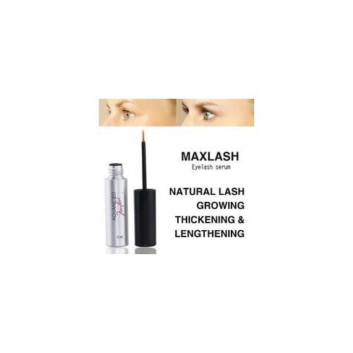 a982b0c601c MAXLASH Luxury Organic Eyelash Growth Serum 3ml-Best Natural Eyelash Serum  - 100% Authentic
