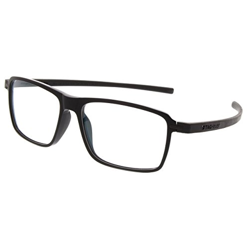 Tag Heuer Men's Eyeglasses Reflex 3 TH3952 TH/3952 001 Black Optical Frame 58mm - Black Optical Frame