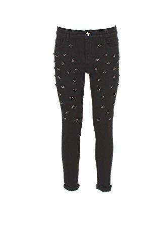 Jeans Donna Twin-set 30 Nero Ja72r4 Autunno Inverno 2017/18