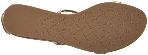 Badgley Mischka Kvinners Barstow Flat Sandal Platino
