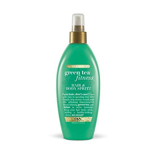 OGX Active Beauty Green Tea Fitness Hair & Body Spritz, 6.8 Ounce