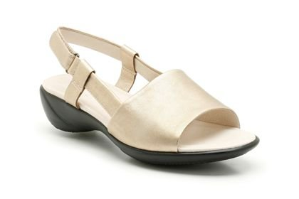 19cab1a40e5a k by clarks open day metallic leather sandal uk sizes 5