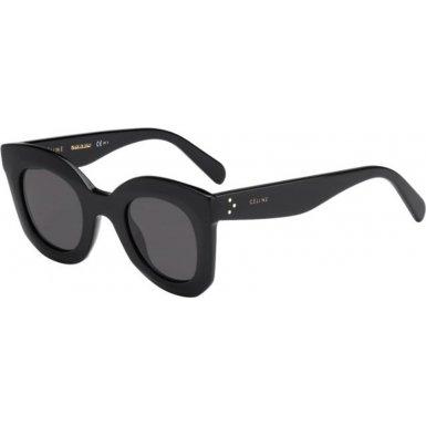 Celine 4139/S 807BN Black Baby Marta Round Sunglasses Lens Category 3 Lens - Celine Marta