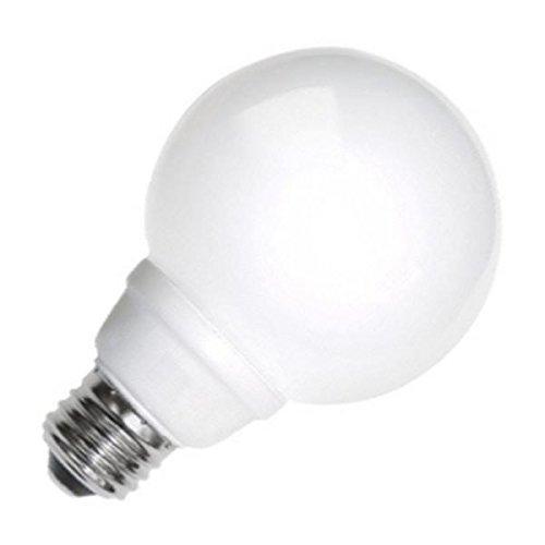 - TCP 8G2505WH Cold Cathode Decorative G25-25 Watt eq. (only 5w Used) Soft White (2700K) Medium Base White Globe Light Bulb (200 Lumens)