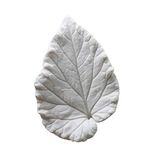 AgoHike Begonia Flower Leaf Shape Silicone Mold Double-sided Texture Mold Fondant Cake Press Mould Cake Decorating Tools(Random) ()