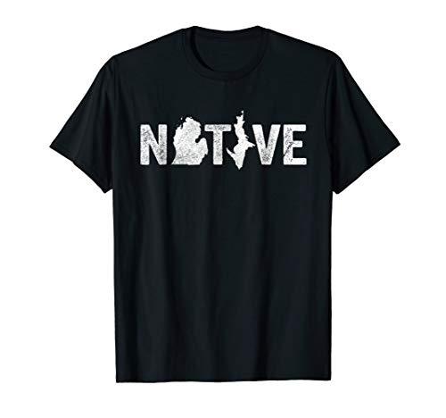 Michigan Native Shirt: Love Raised Born State -