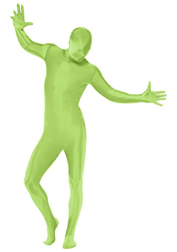 [Green Body Suit (Large)] (Green Man Body Suit)
