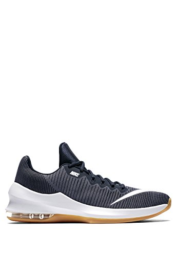 NIKE Men's Air Max Infuriate 2 Low Light Carbon/White-Dark Obsidian Basketball Shoes – DiZiSports Store