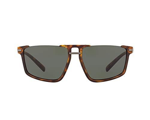 (Versace Men's VE4363 Havana/Gunmetal/Dark Green One Size)
