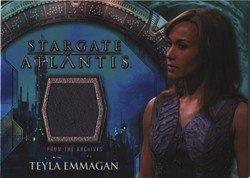 Stargate Atlantis Seasons 3 & 4 Costume Card Teyla (Atlantis Costumes)