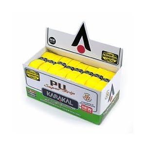 24 Karakal PU Super Grips (Yellow) Box