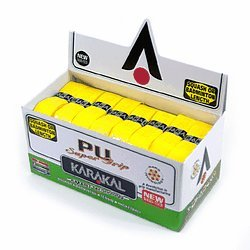 24 Karakal PU Super Grips (Yellow) - Box