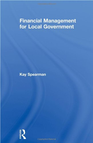 Financial Management for Local Government (Local Economic Development Series)