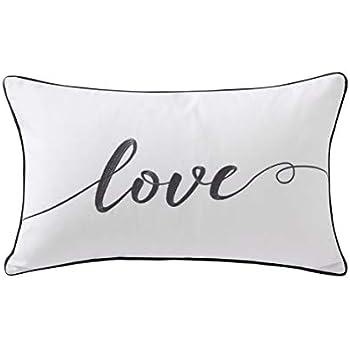 Amazon.com: Hofdeco - Funda de almohada lumbar para él y ...
