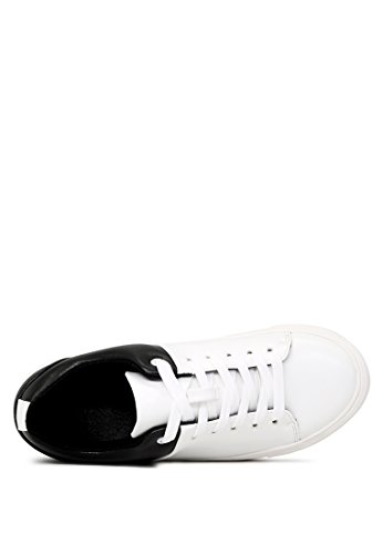London Rag Women's Lace-up Sneakers White UJxtb7r