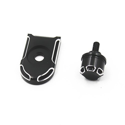 Seat Mounting Knobs - Motorcycle Rear Seat Bolt Tab Screw Mounting Knob Cover For Harley Dyna Softail Sportster Wide Glide Street Glide